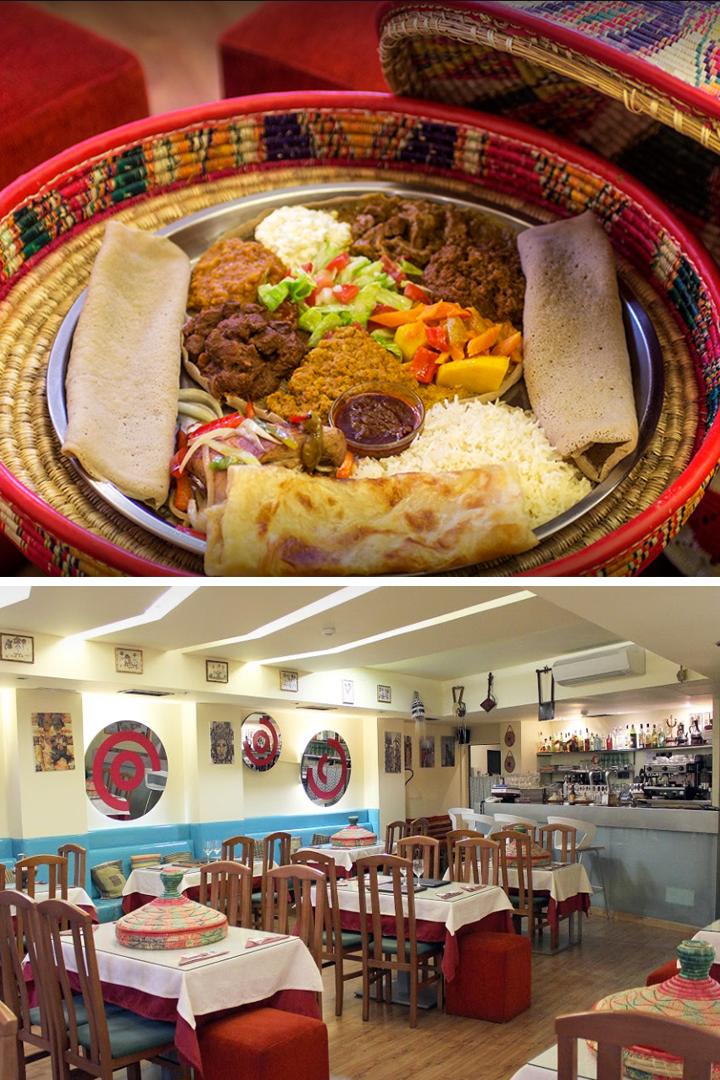 restaurantes exóticos madrid comida etíope