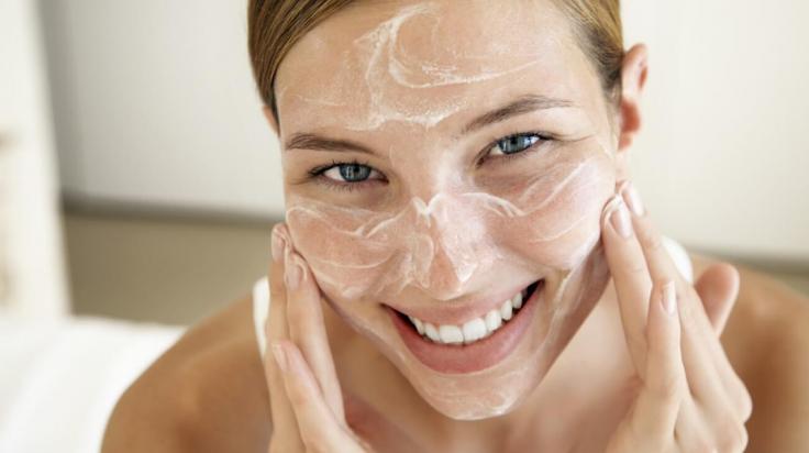 exfoliar piel correctamente