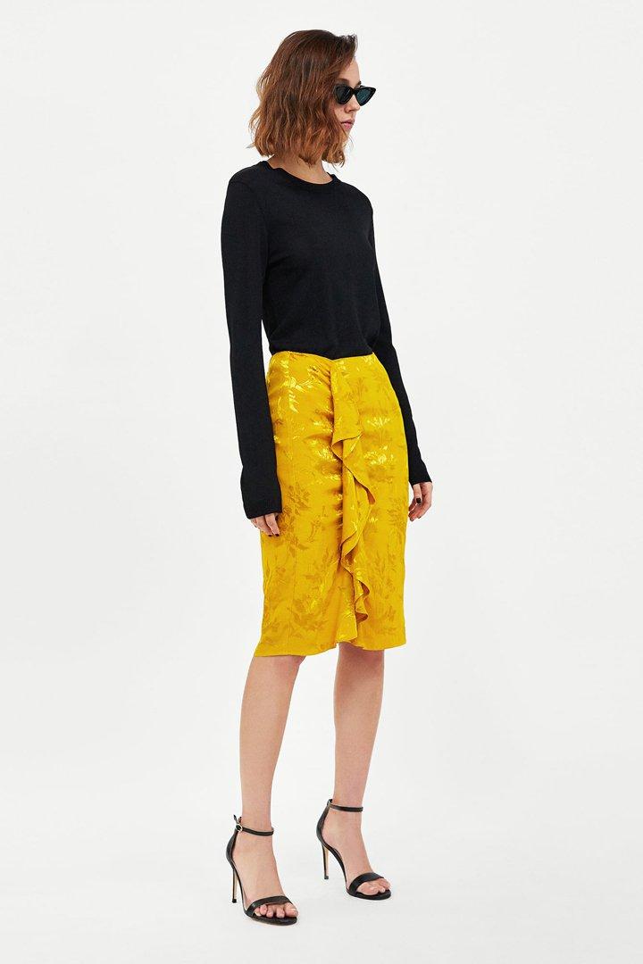 Primavera Stylelovely Para Faldas Shopping 100 Midi Esta fapRRIq