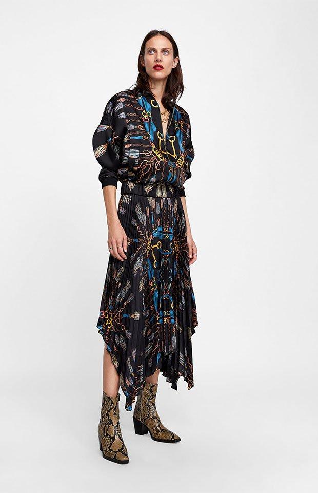 2beb848a1 21 faldas midi de Zara que querrás este otoño - StyleLovely