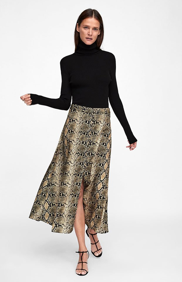 5909311a9 21 faldas midi de Zara que querrás este otoño - StyleLovely