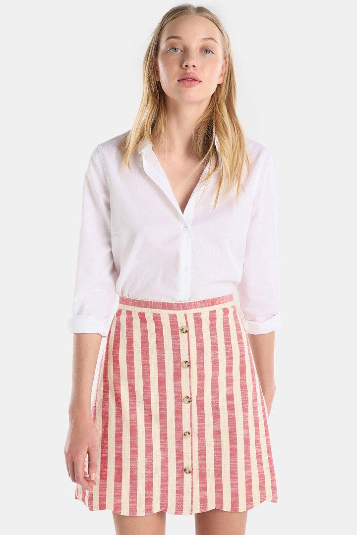 Falda de rayas de Tintoretto: Tendencias infalibles verano