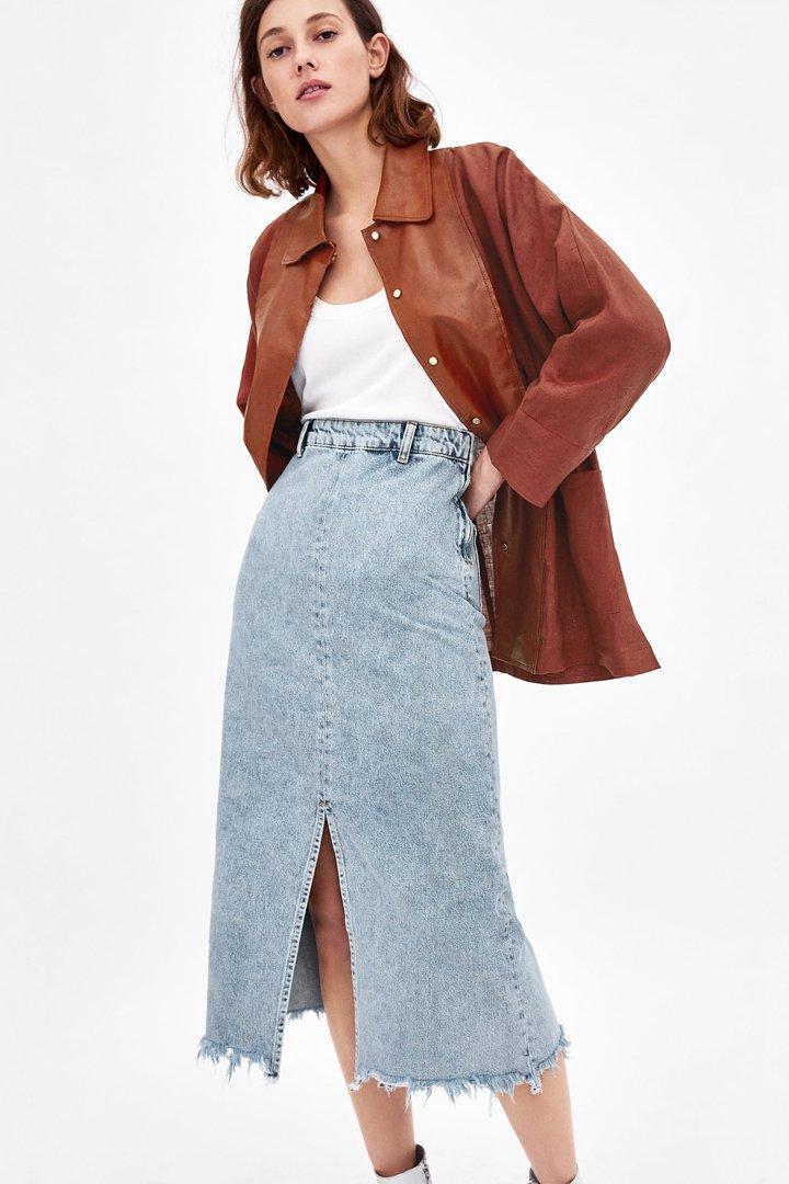 d8c547bd9 100 faldas midi para esta primavera - Shopping - StyleLovely