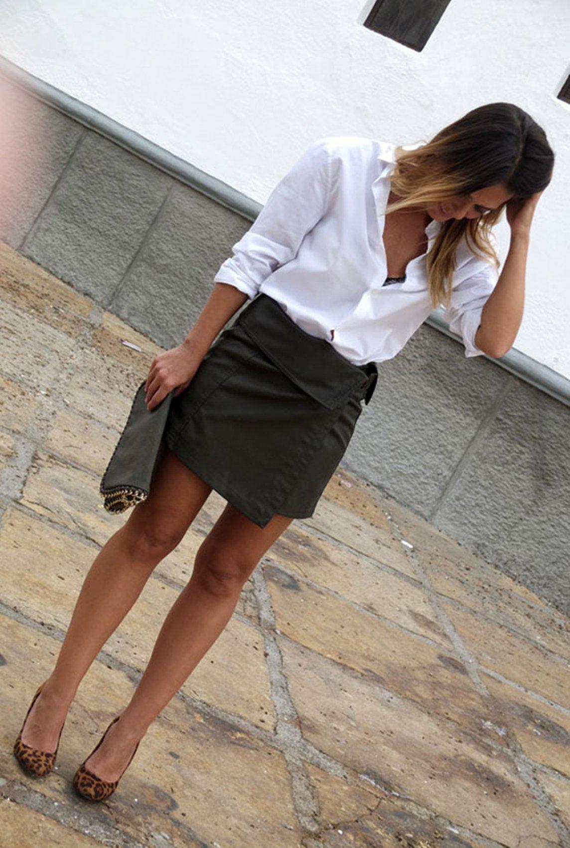 Luisa – Camisa blanca