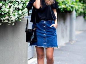 Faldas vaqueras: apuesta por su versión mini