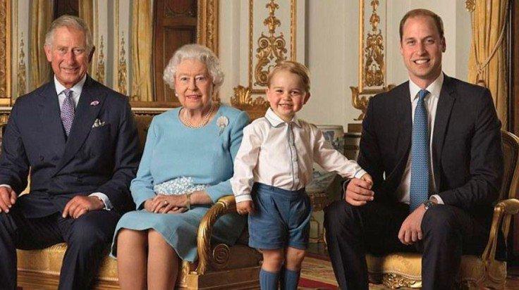 posan la familia real británica juntos