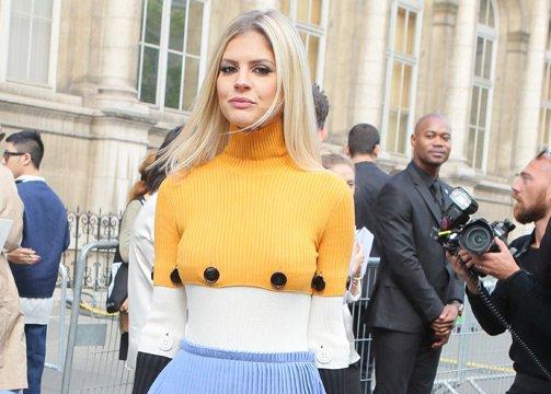 Famosos en la semana de la moda de París