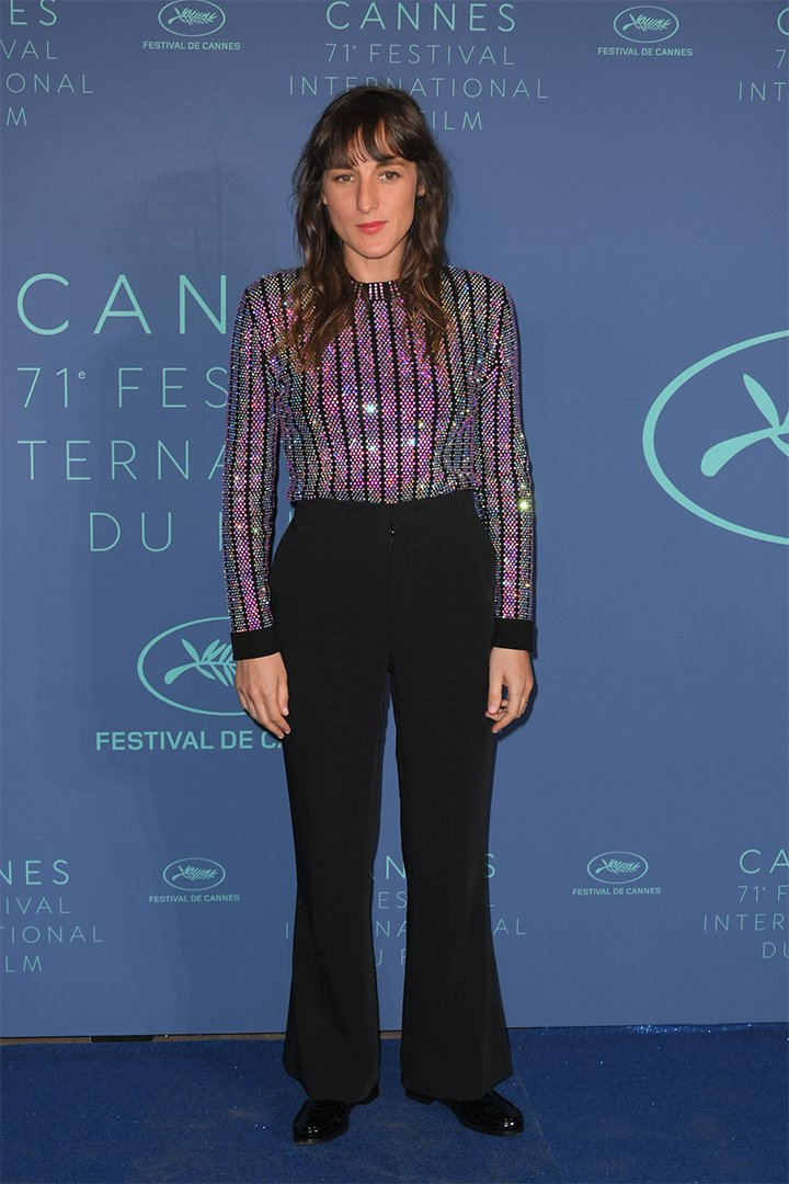 Juliette Armanette en Cannes 2018