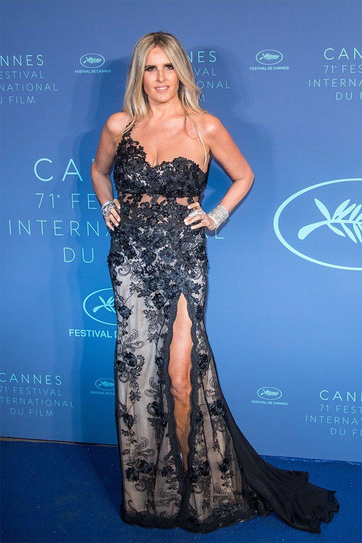 Tiziana Rocca en Cannes 2018