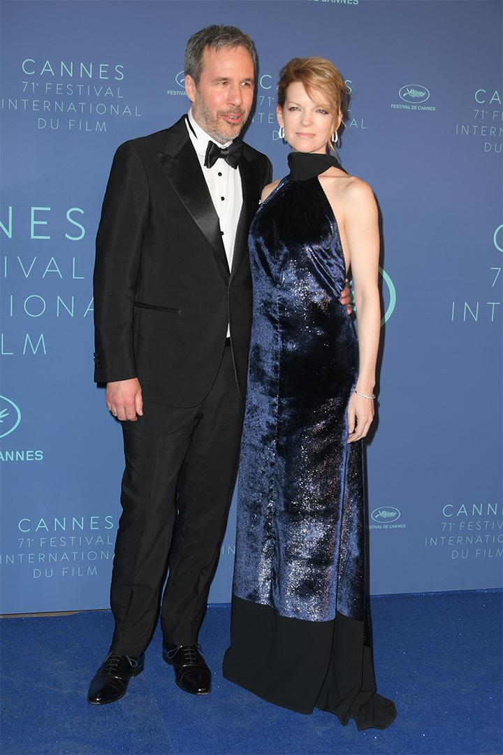 Denis Villenueve y Tanya lapointe en Cannes 2018