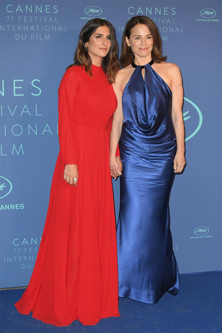 Suzanne Clement y Geraldine Nakache en Cannes 2018