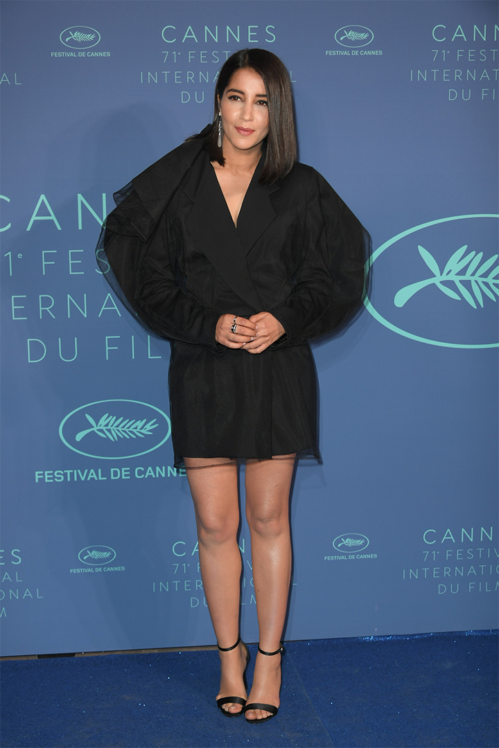 Leila Beckhti en Cannes 2018