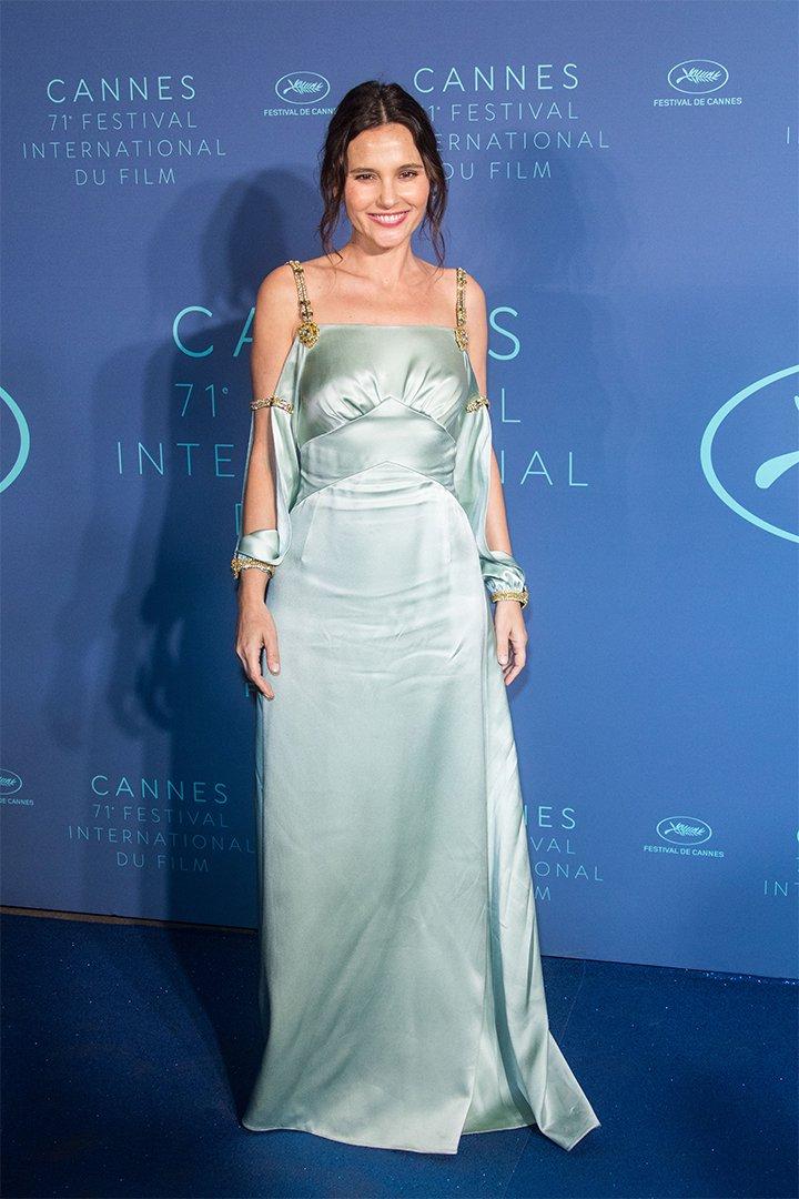 Virginie Ledoyen en Cannes 2018