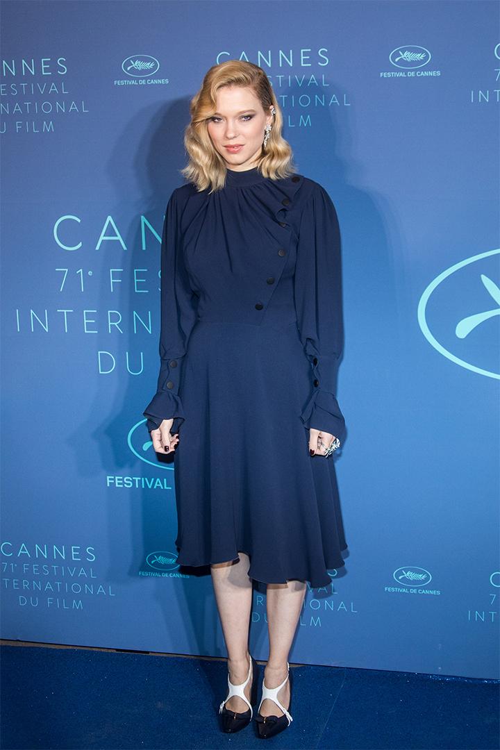 Léa Seydoux en Cannes 2018