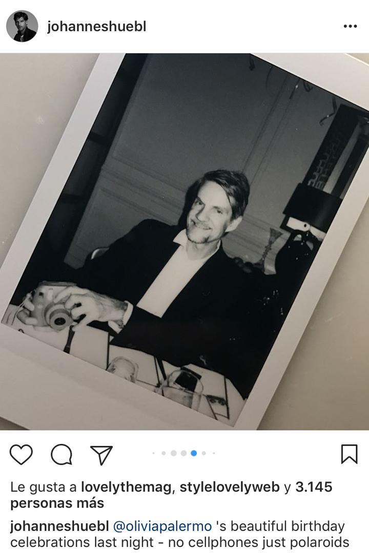 cumpleaños de Olivia Palermo en Polaroids