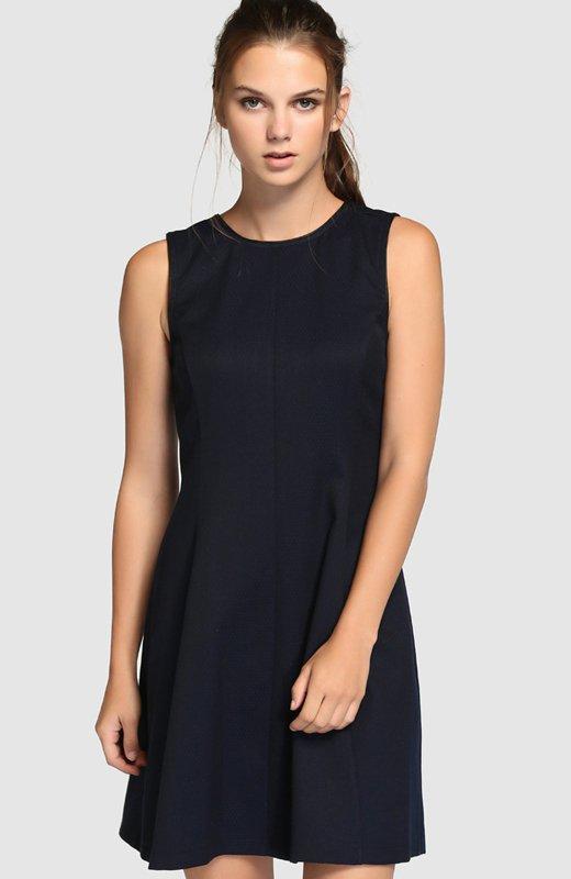 Fiesta de la Moda. El Corte Inglés. Vestido azul