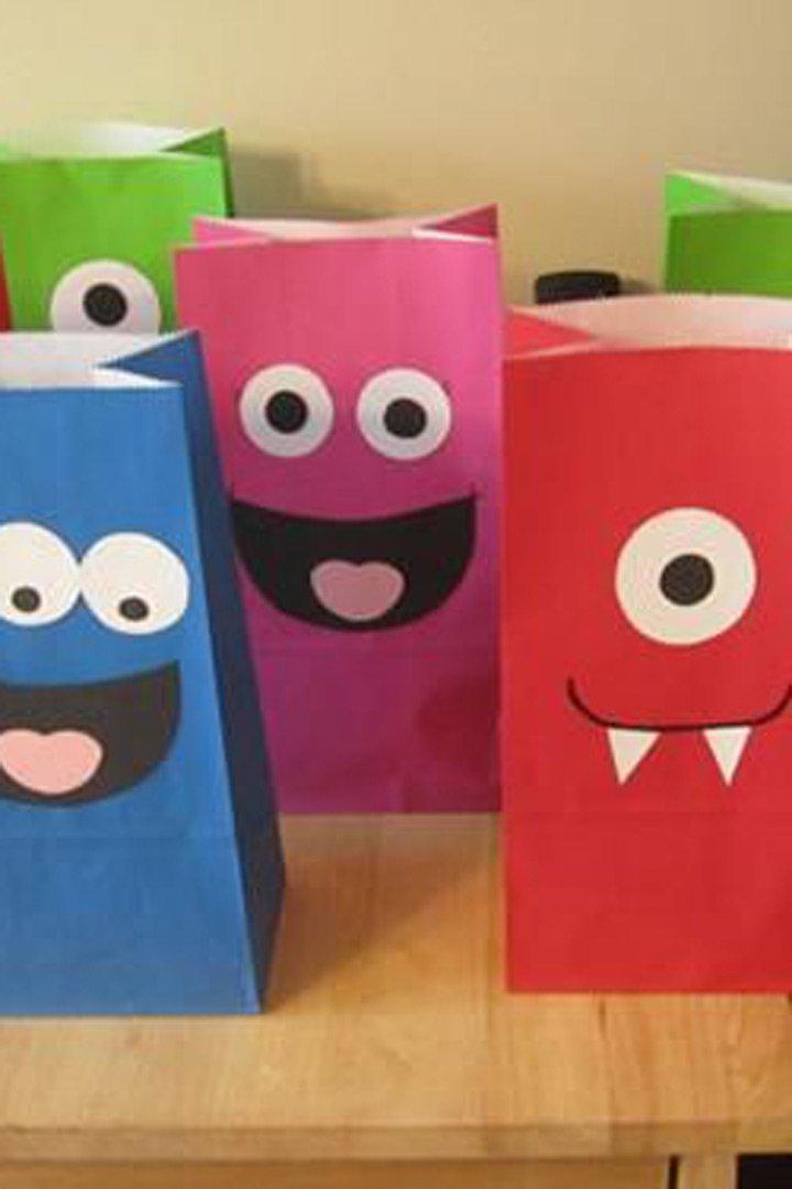 ideas fiestas infantiles bolsas