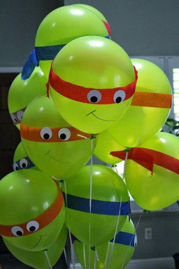 ideas fiestas infantiles globos