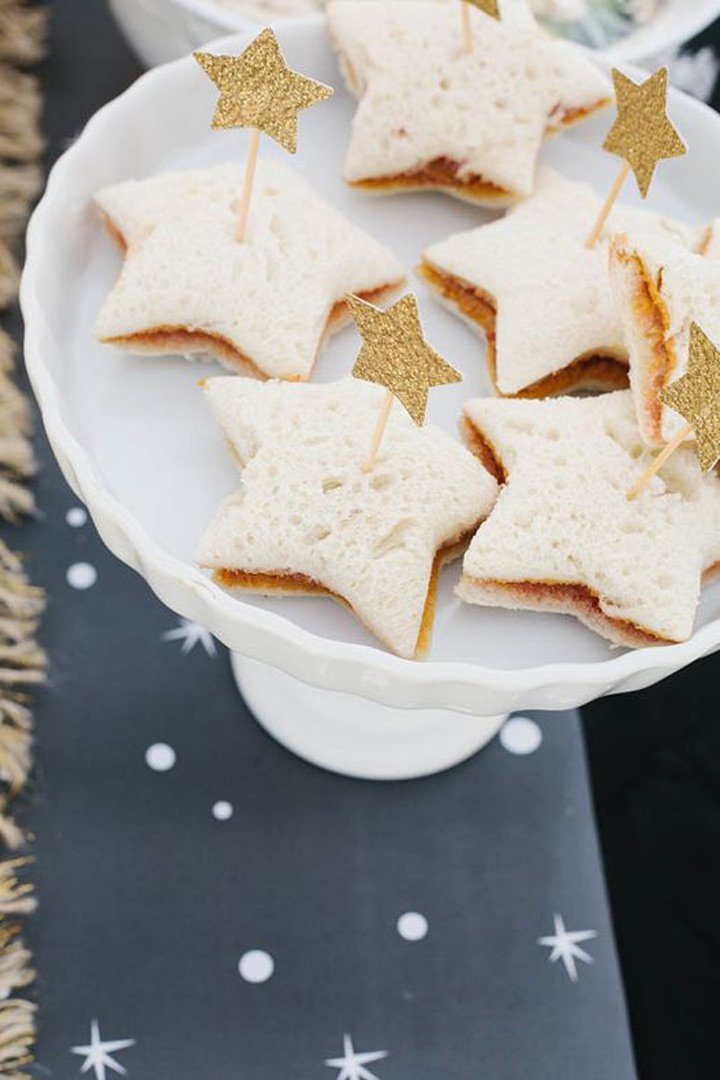 fiestas infantiles sandwiches