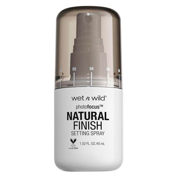 Fijador de maquillaje Natural Finish Photofocus de Wet N Wild