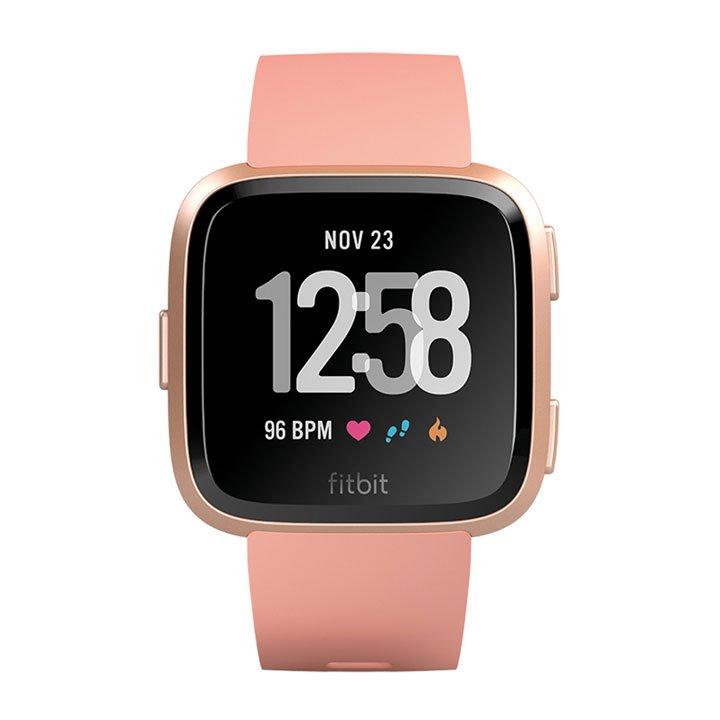 Reloj smartwatch con pulsómetro Versa de Fitbit: prendas accesorios deporte casa
