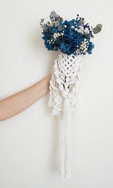 Por qué elegir flores preservadas en tu ramo de novia