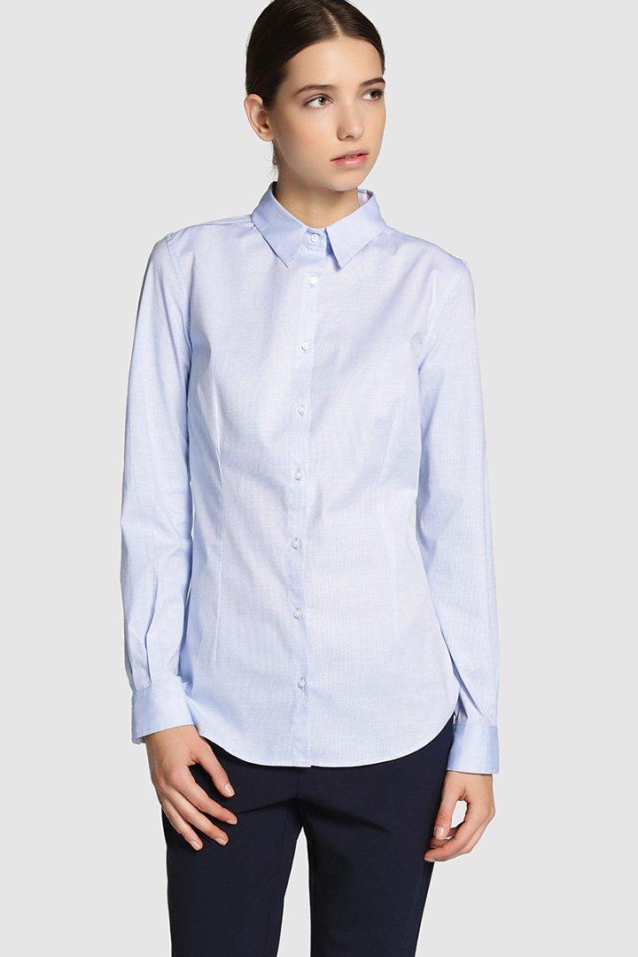 Camisa azul de Fórmula Joven