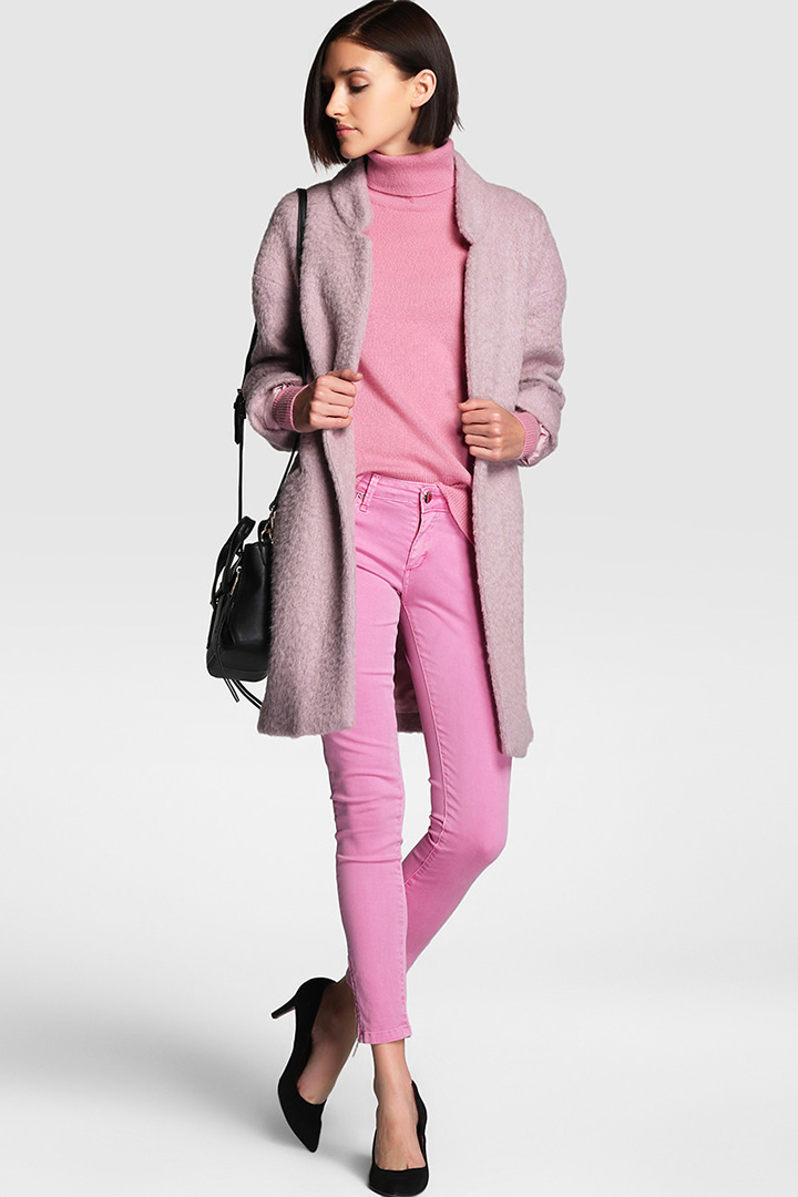 Jersey rosa de cashmere de Tintoretto