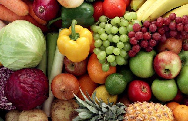 Frutas y verduras, un esencial en la dieta postparto