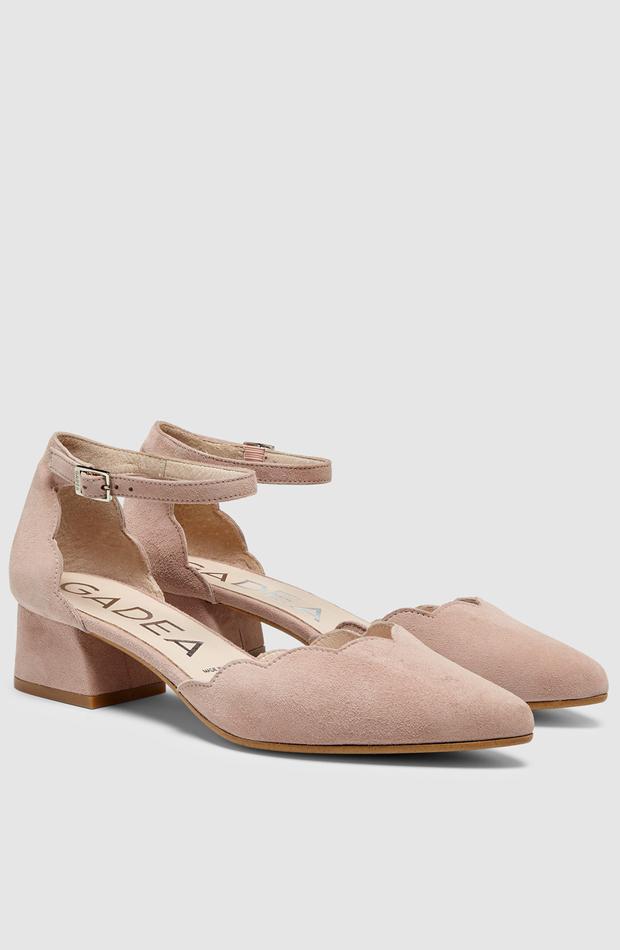 Zapatos de salón de Gadea: look de invitada de rebajas