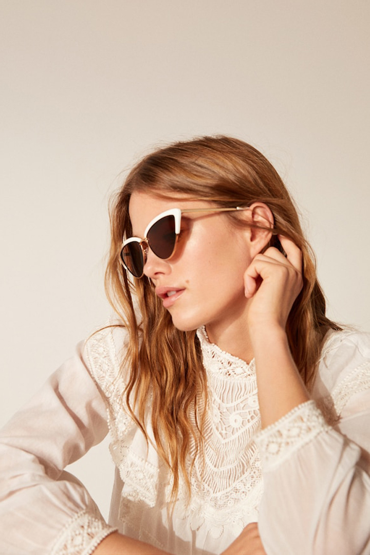 gafas sol cat-eye mango ropa