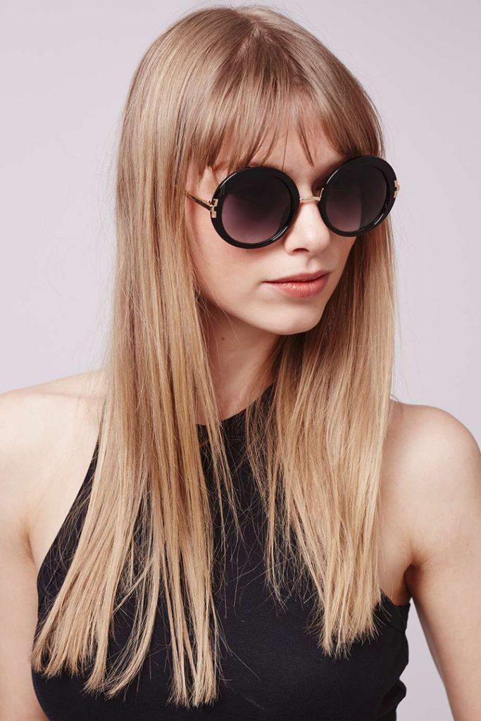 Gafas de sol cool: sofisticadas
