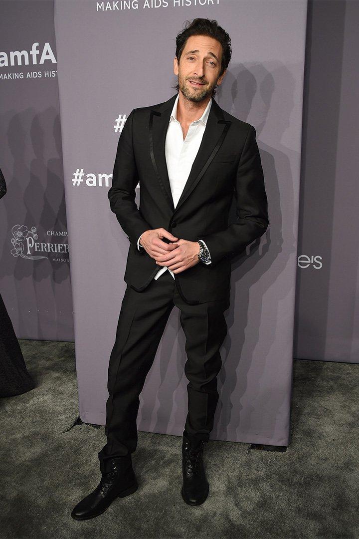 Gala amfAR 2018: Adrien Brody