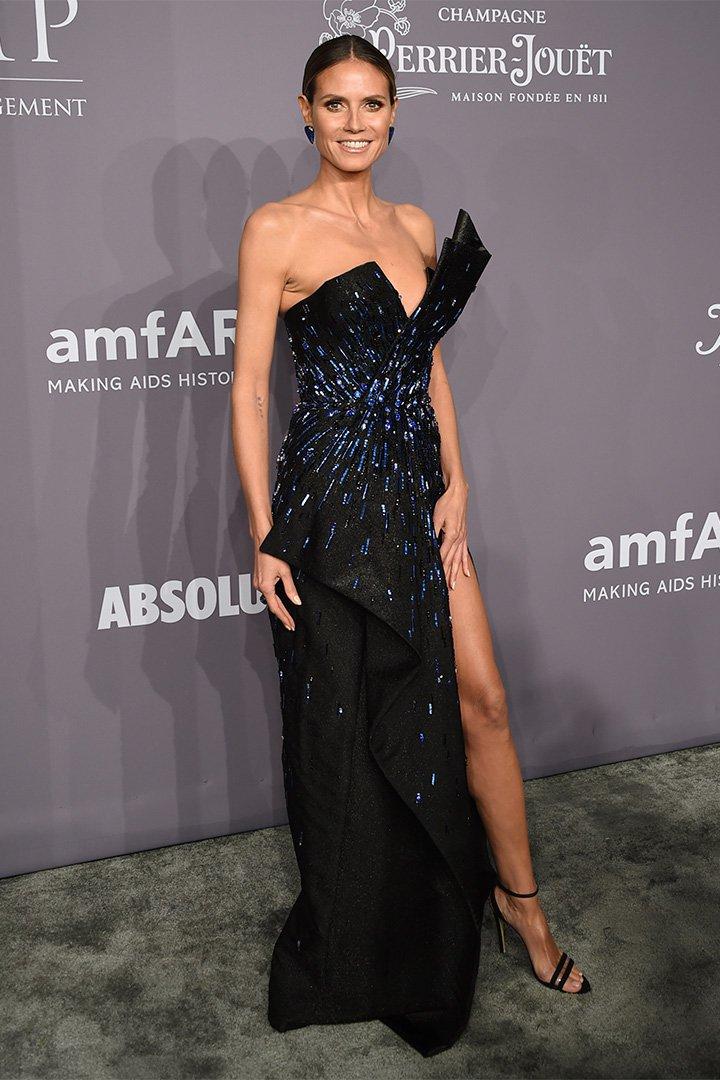 Gala amfAR 2018: Heidi Klum