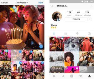 Ya puedes subir galerías de fotos en Instagram