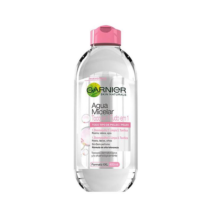 Skin Naturals Agua Micelar de Garnier: productos beauty otoño