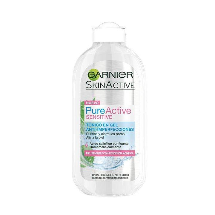 Pure Active Sensitive de Garnier: productos beauty pieles sensibles