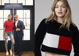Gigi Hadid será la nueva embajadora de Tommy Hilfiger