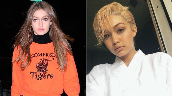 Gigi Hadid nuevo look