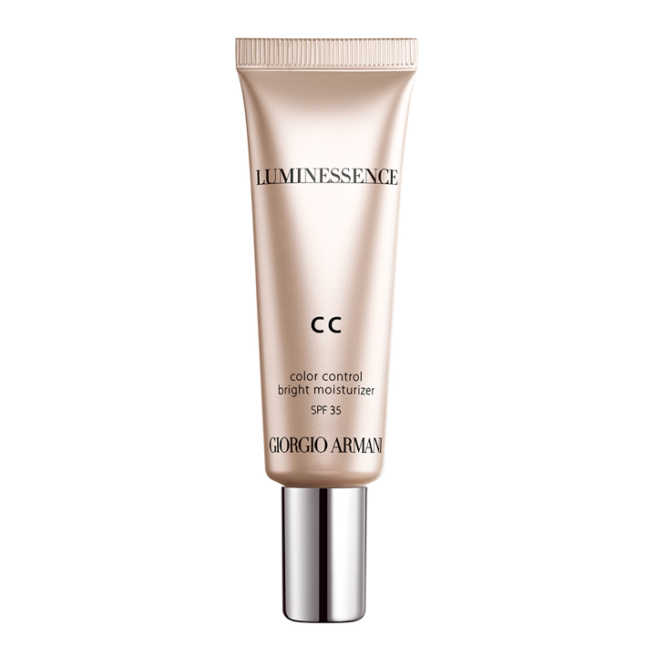 CC Cream Luminessence de Giorgio Armani: cremas con color