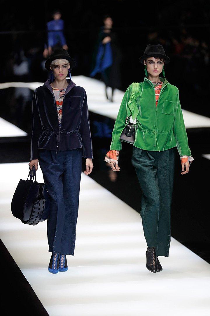 Milán Fashion Week: Giorgio Armani otoño invierno 2017 ...