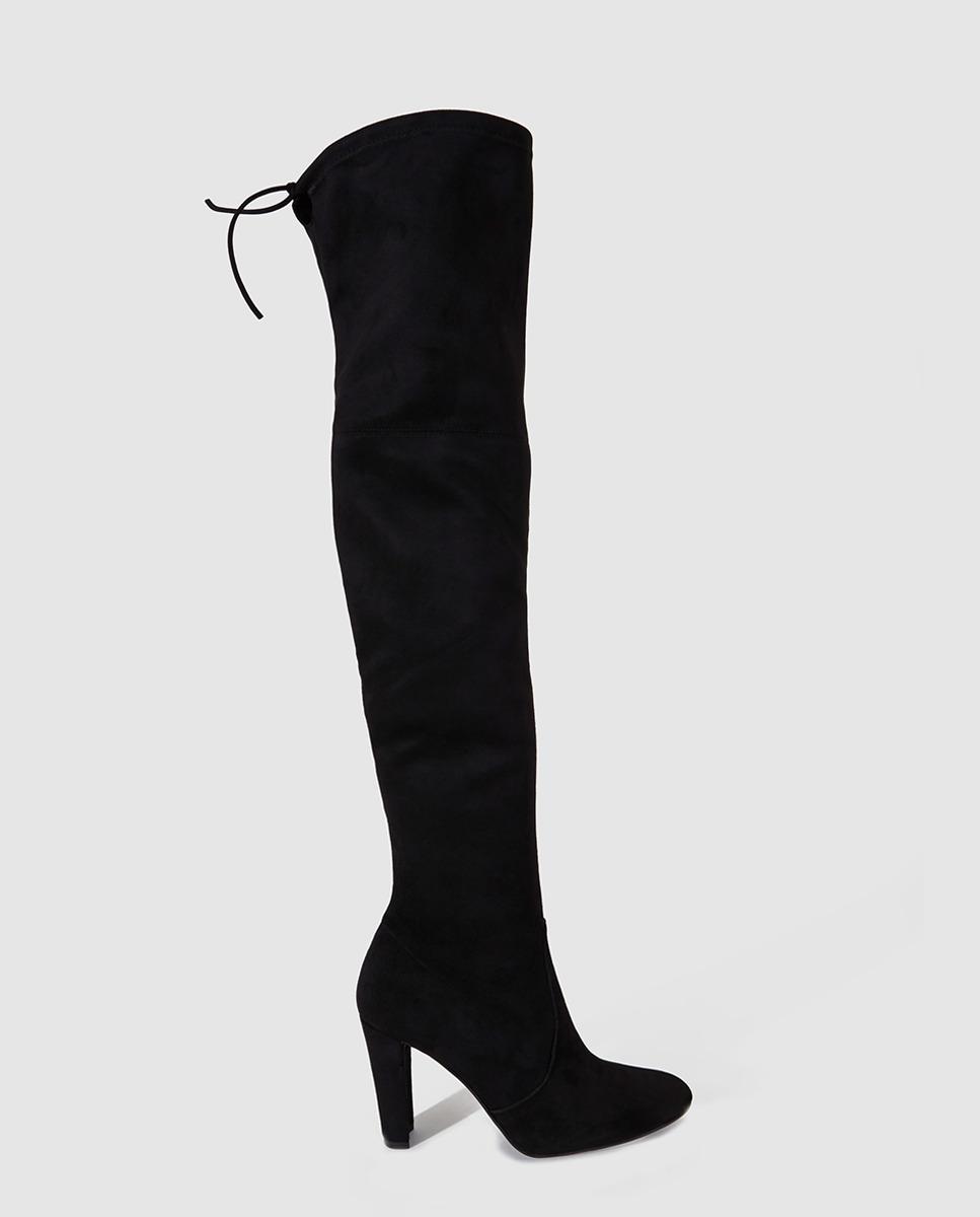 Botas negras de caña alta de Gloria Ortiz