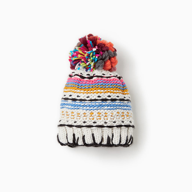 Gorro de punto de Zara Kids invierno 2018