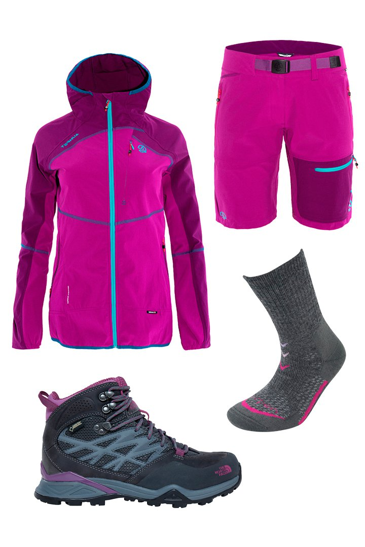 Guía deportiva: look de hiking