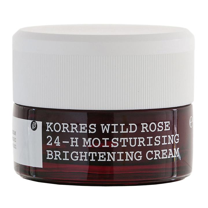 Crema Hidratante Iluminadora 24h Rosa Salvaje de Korres: productos cosmética natural