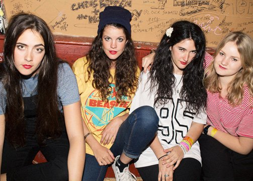 Hinds: The new it girl band
