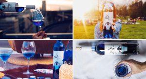"""Gïk, el vino azul que triunfa entre los millenial:  """"Está previsto que desembarquemos en Estados Unidos este verano"""""""