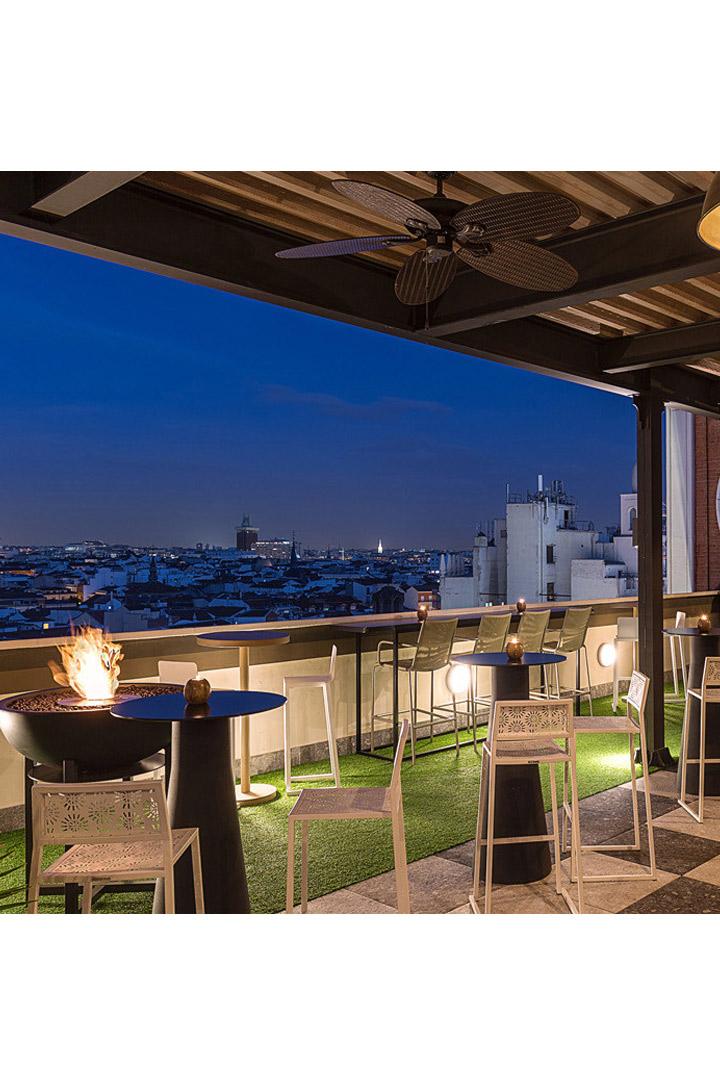 Hotel Emperador: Terrazas de Madrid