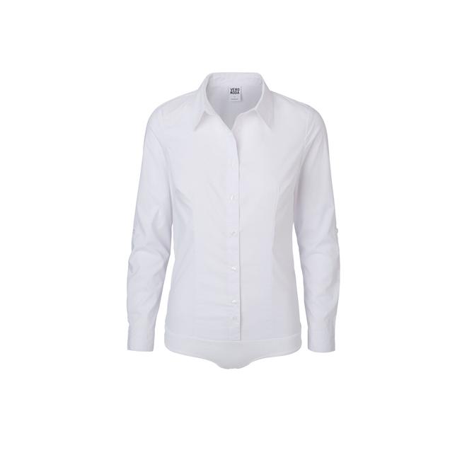 camisas blancas veromoda