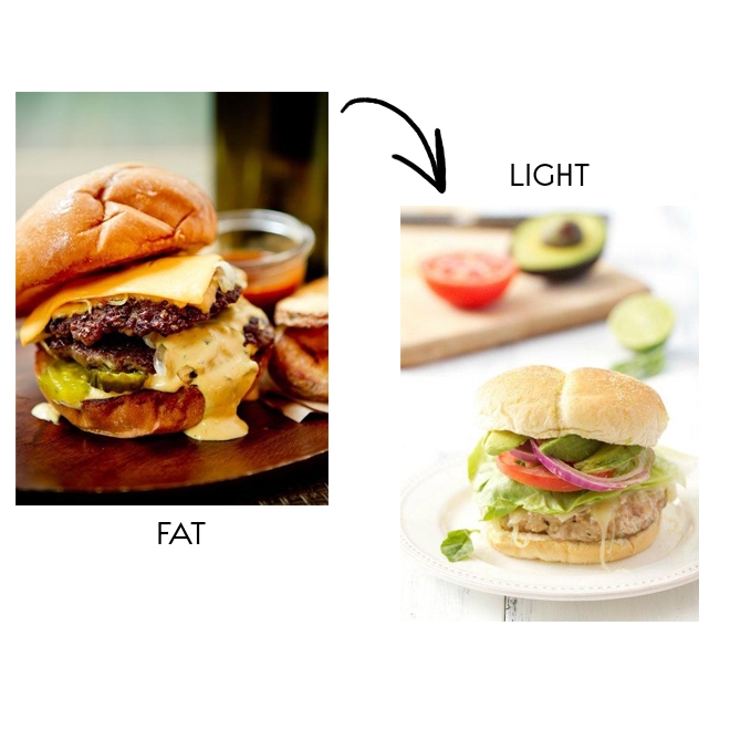 fat vs light